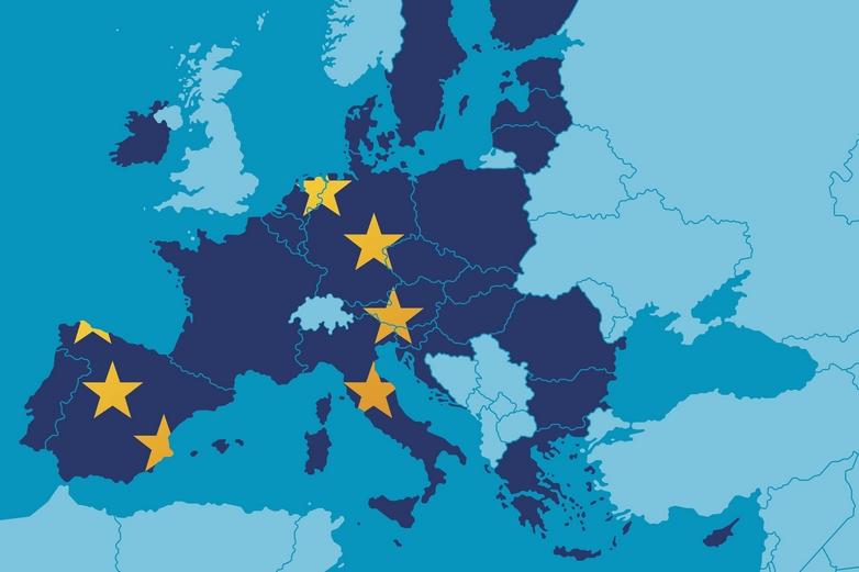 A l'heure actuelle, cinq pays sont officiellement candidats à l'adhésion à l'Union européenne : la Turquie, le Monténégro, la Serbie, la Macédoine du Nord et l'Albanie - Crédits : filo / iStock