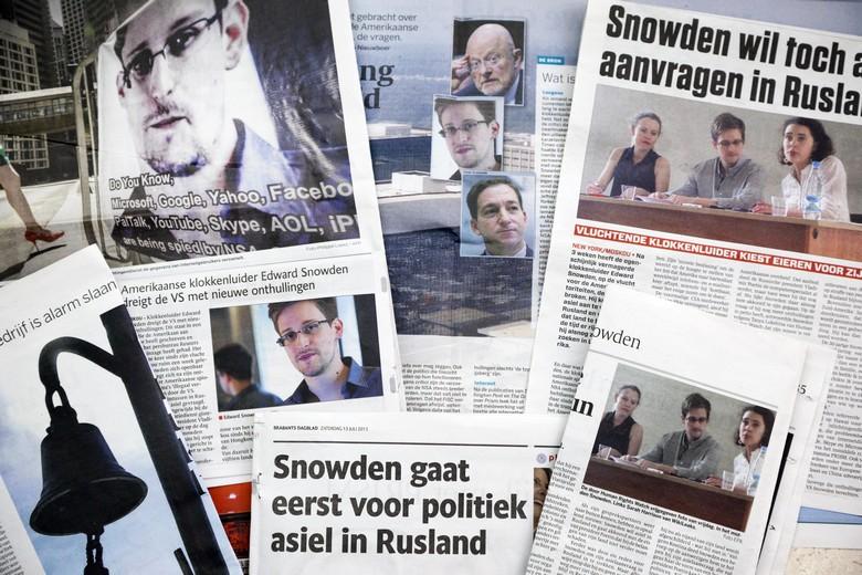 En alertant sur la politique de surveillance de masse de la NSA, Edward Snowden a fait la Une de tous les médias mondiaux - Crédits : istockphoto