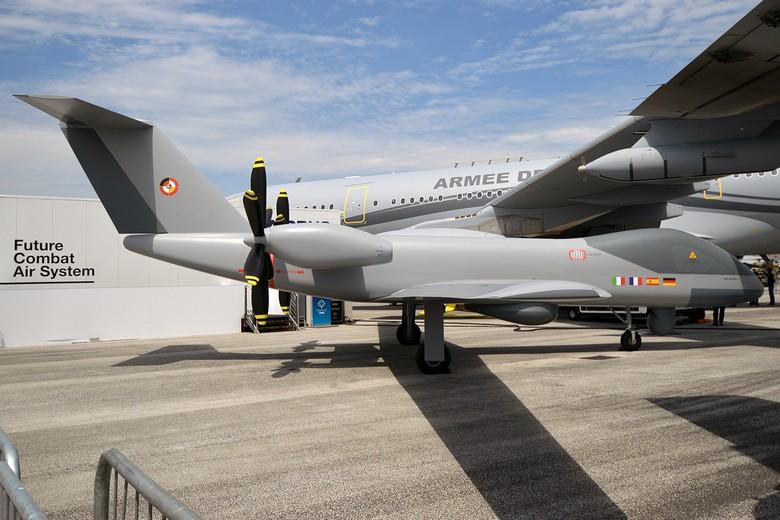 Parmi les projets susceptibles de bénéficier d'un financement du Fonds européen de défense, le drone MALE (Eurodrone) développé par la France, l'Allemagne, l'Italie et l'Espagne
