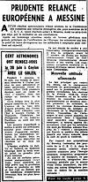 Article de La Croix - 04 juin 1955