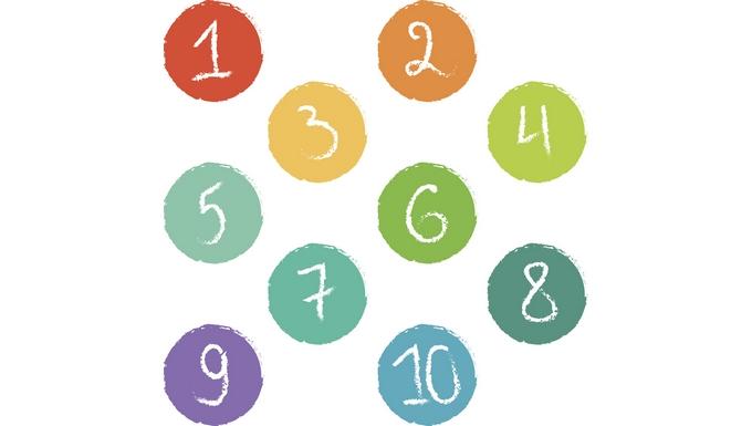 10 chiffres Erasmus