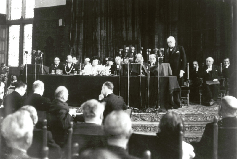 Discours de Winston Churchill - Congrès de La Haye, mai 1947