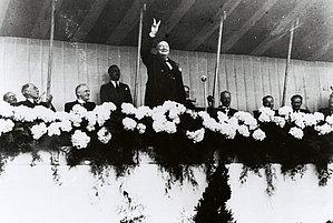Discours de Winston Churchill au Congrès de La Haye, mai 1947