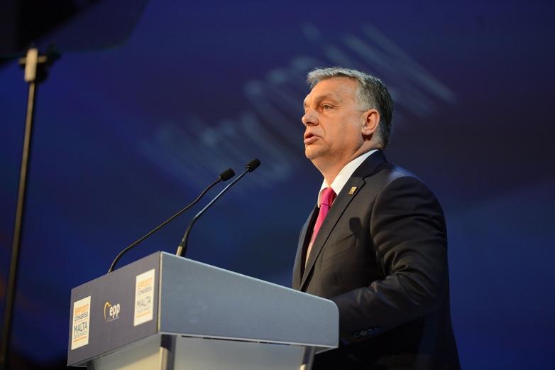 Viktor Orban au Congrès du Parti populaire européen (PPE) à Malte le 30 mars 2017 - Crédits : PPE / Flickr CC BY 2.0