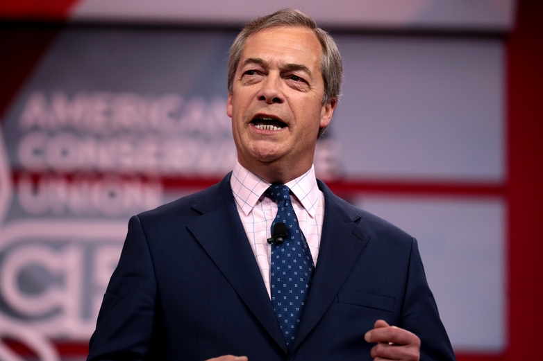 Nigel Farage, leader du nouveau