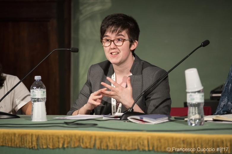 La journaliste Lyra McKee, en 2017 - Crédits :  Francesco Cuoccio / Flickr CC BY-SA 2.0
