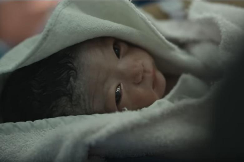 Capture d'écran du clip de campagne du Parlement européen