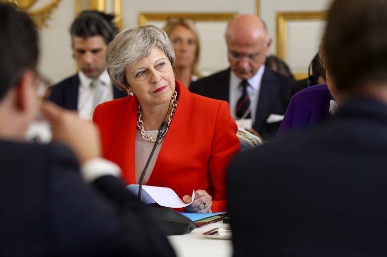 La Première ministre britannique Theresa May - Crédits : Number 10 / Flickr CC BY-NC-ND 2.0