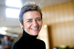 Margrethe Vestager - Crédits : Wikimedia Commons