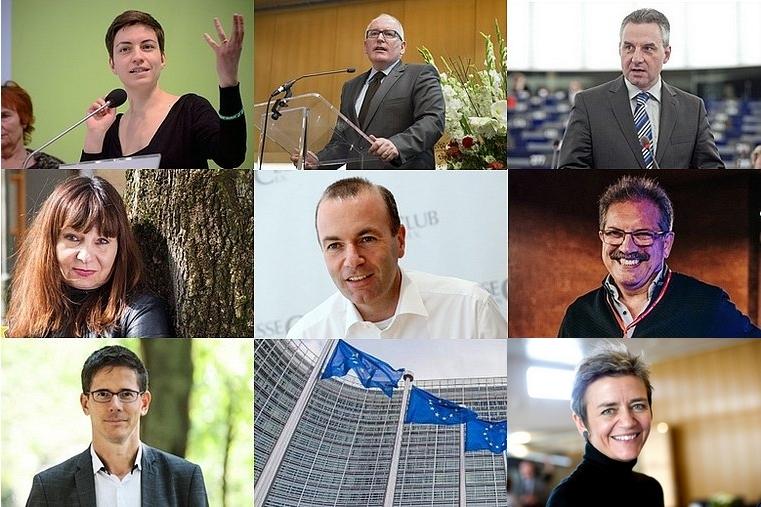 Qui sont les candidats à la présidence de la Commission européenne ?