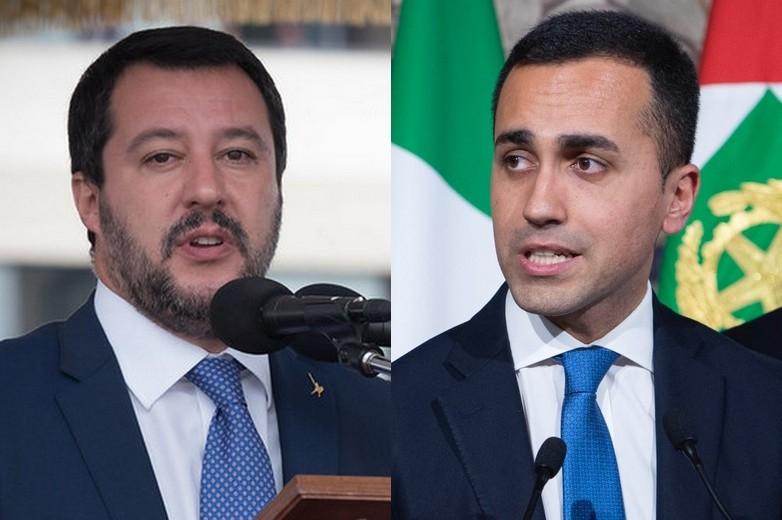 Matteo Salvini (à gauche) Luigi Di Maio (à droite) - Crédits : Ministro Difesa / Flickr | Wikimedia Commons