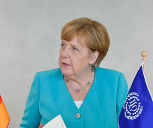 Crédits : Angela Merkel - Crédits : Flickr / International Labour Organization CC BY-NC-ND 2.0