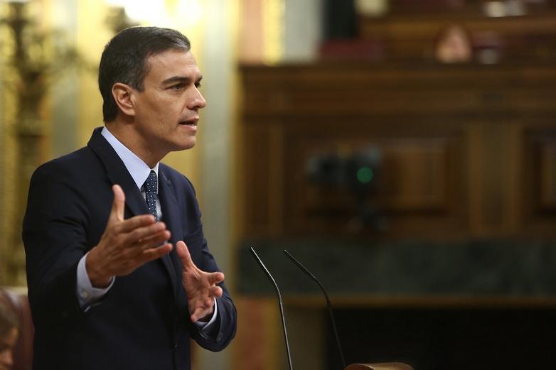 Pedro Sanchez soumis à l'investiture des parlementaires, le 23 juillet 2019 - Crédits : La Moncloa - Gobierno de España / Flickr CC BY-NC-ND 2.0