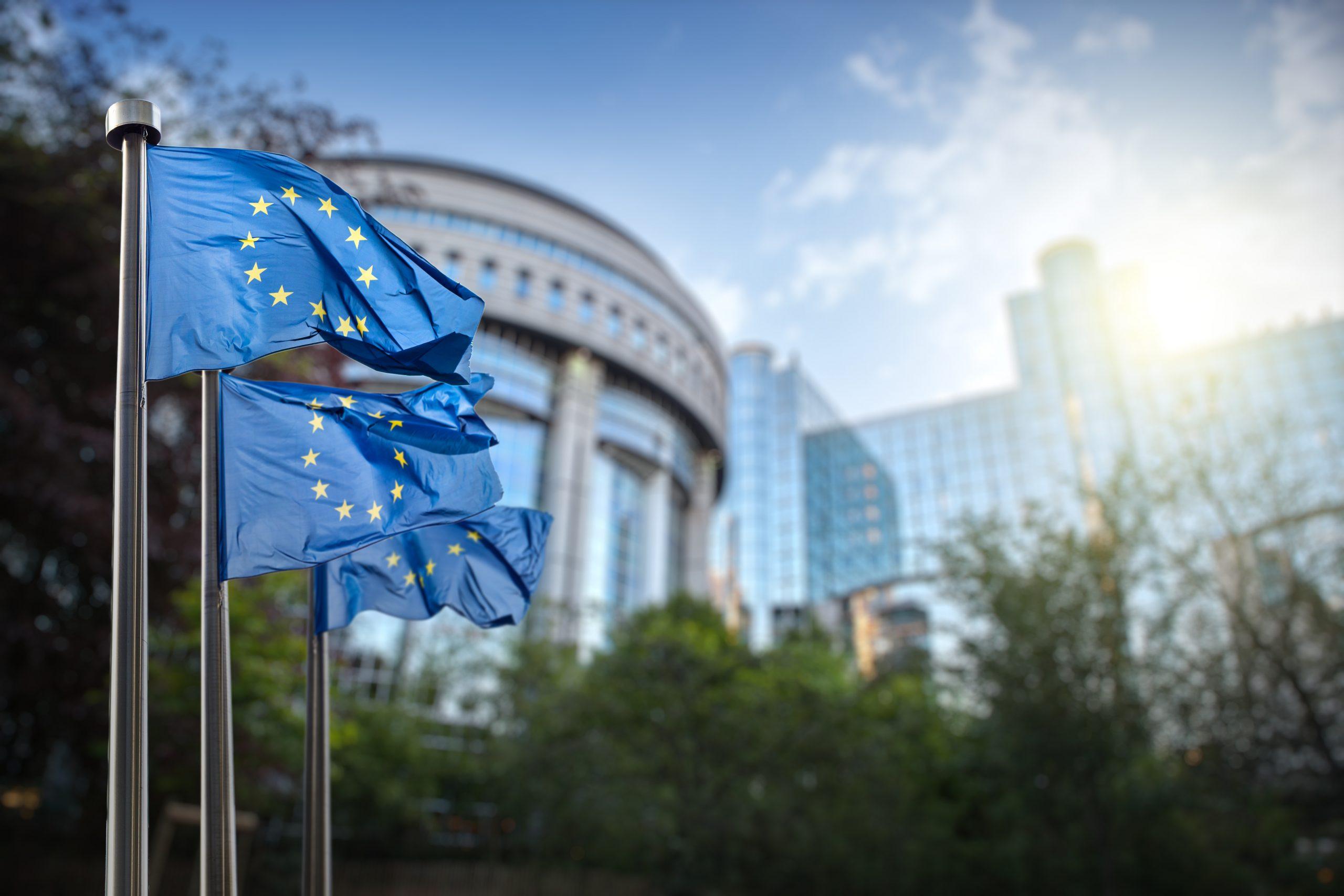 Le Parlement européen à Bruxelles, vu depuis le parc Léopold - Crédits : artJazz / iStock