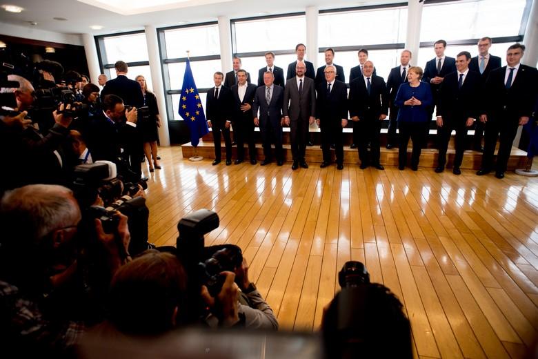 Mini-sommet européen sur l'immigration