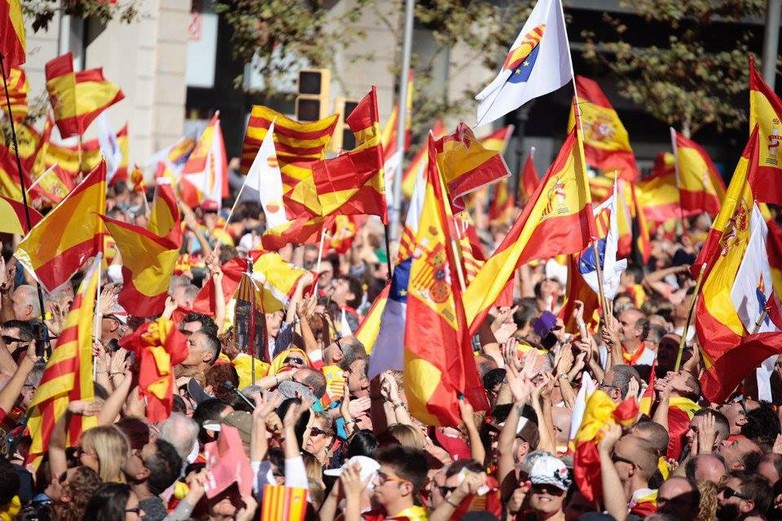 Manifestation pour l'unité de l'Espagne le 30 octobre à Barcelone
