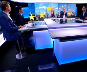 Yannick Jadot, François-Xavier Bellamy et Raphäel Glucksmann sur le plateau de France 24