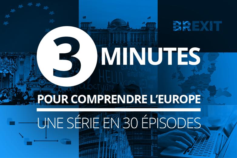 3 minutes pour comprendre l'Europe