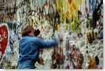mur de Berlin en 1989