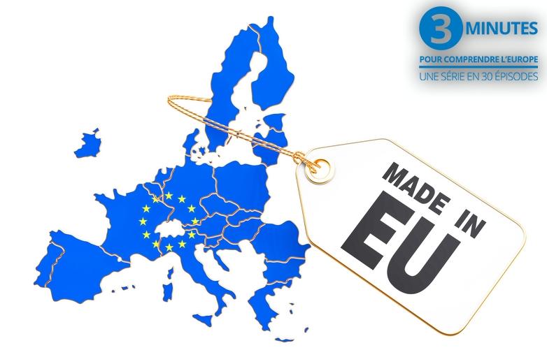 Le marché unique et les quatre libertés (3 minutes pour comprendre l'Europe - n°21)
