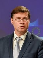 Valdis Dombrovskis - Crédits : Jennifer Jacquemart / Commission européenne