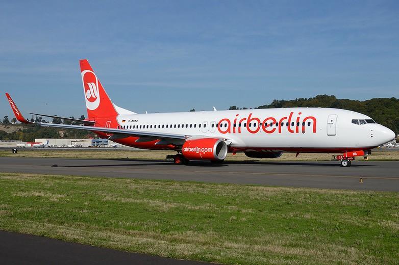 Avion de la compagnie allemande Air Berlin