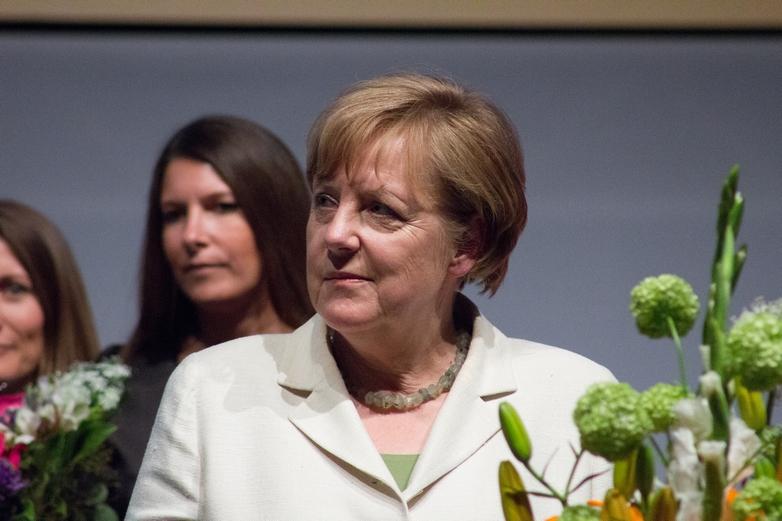 Angela Merkel en 2017