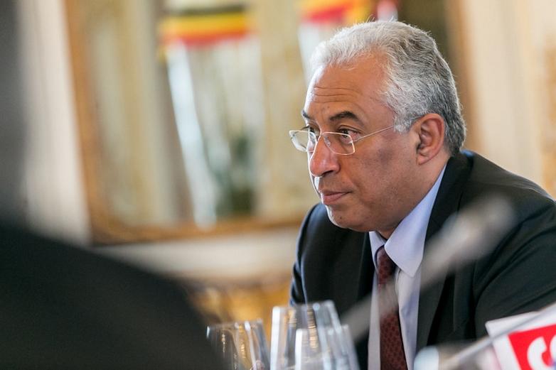 António Costa lors de la préparation d'un Conseil européen, en 2015 à Bruxelles - Crédits : Tim De Backer / Flickr PES Communications CC BY-NC-SA 2.0