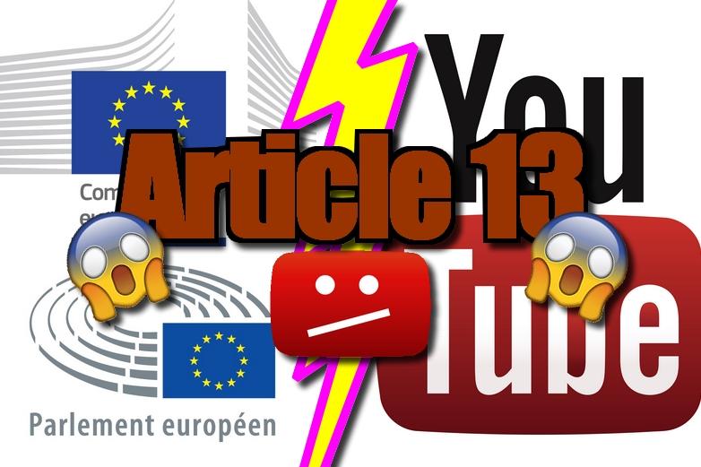 Pastiche de vignette YouTube, couleurs vives, emojis et textes en gras