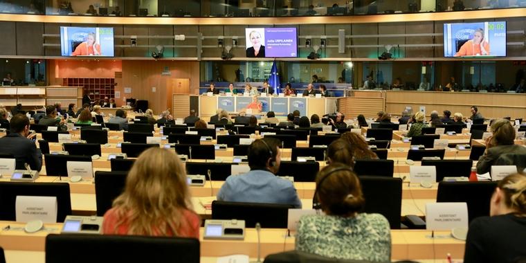 Audition de la commissaire finlandaise face aux eurodéputés - Crédits : Aurore Martignoni / Commission européenne