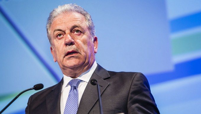 Dimitris Avramopoulos, commissaire européen aux Affaires intérieures