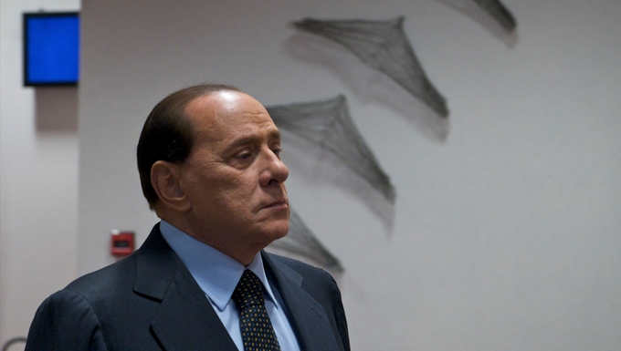 Silvio Berlusconi (c) Le Conseil de l'Union européenne