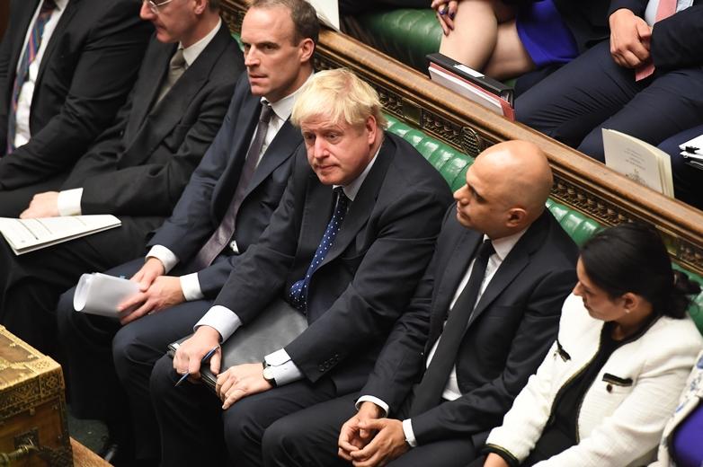 Le Premier ministre britannique Boris Johnson à la Chambre des communes, le 14 octobre 2019 - Crédits : Jessica Taylor / Flickr UK Parliament CC BY-NC 2.0