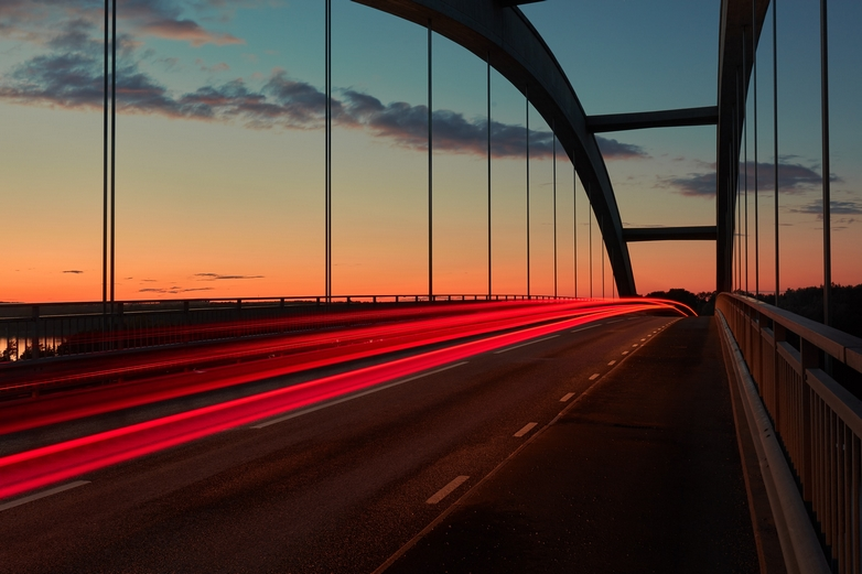 Le Fonds européen de développement régional (FEDER) participe actuellement au financement d'un pont sur le Danube à Brăila en Roumanie - Crédits : Commission européenne