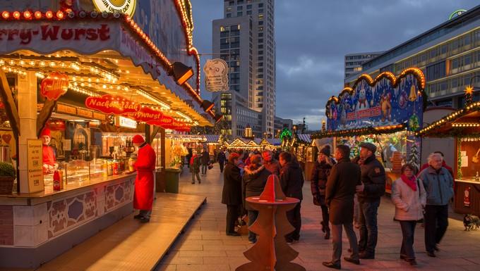 Le marché de Noël de la Breitscheidplatz à Berlin