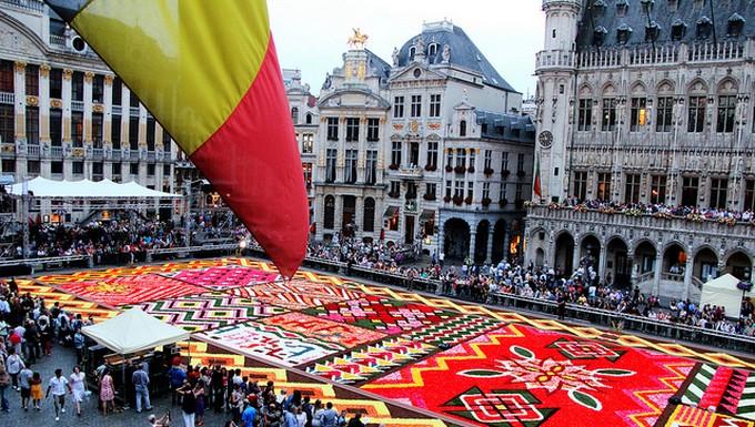 Tapis de fleurs de Bruxelles en 2012