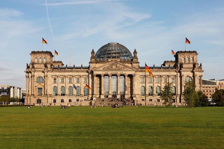 Palais du Reichstag, siège du Bundestag à Berlin
