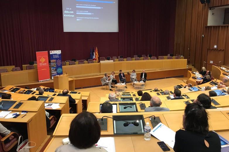 Dialogue sur la cohésion, à Toulouse, le 19 octobre 2018