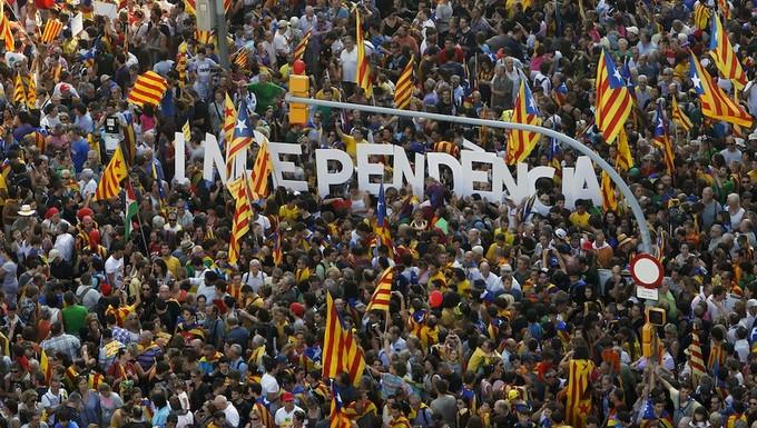 Fête de la Diada en Catalogne