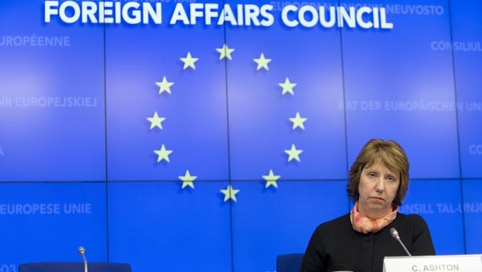 Catherine Ashton Conseil Affaires étrangères extraordinaire 3 mars 2014