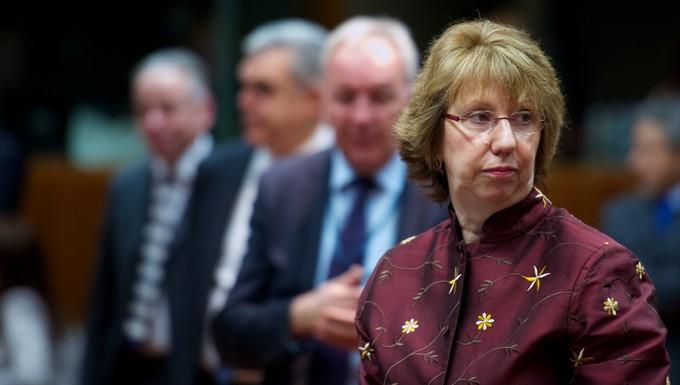Catherine Ashton Conseil Affaires étrangères 17 mars 2014