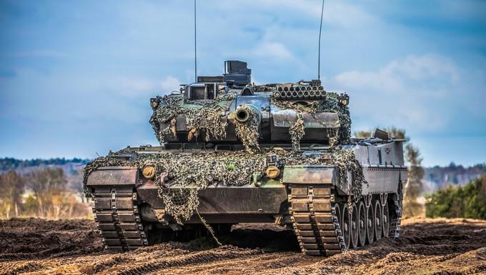 Char de l'armée allemande