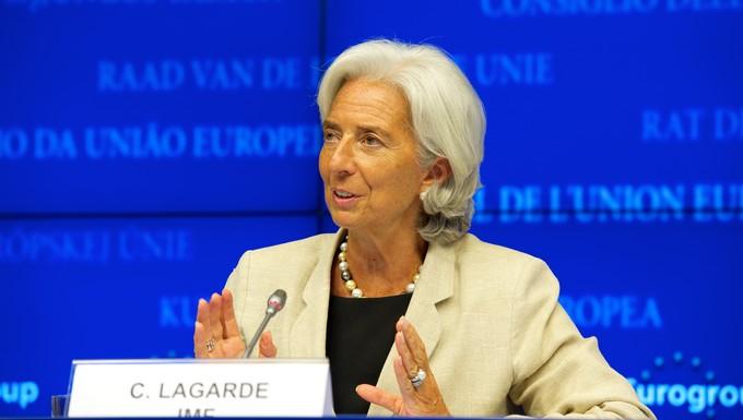 FMI Ukraine aide Christine Lagarde