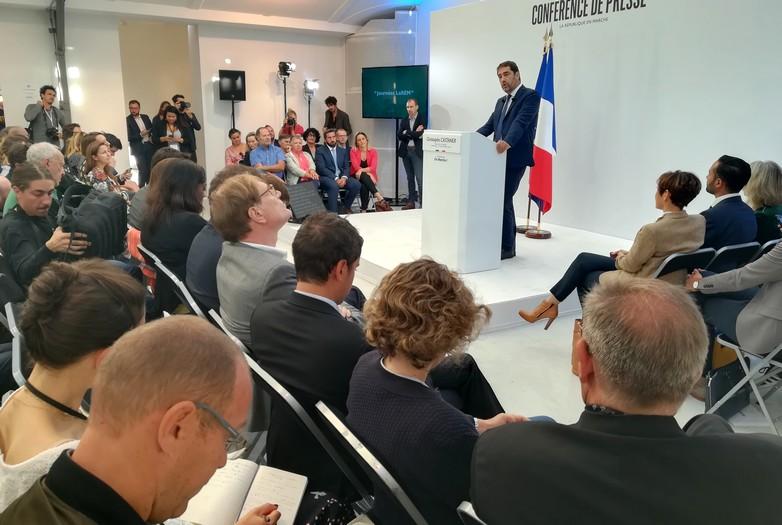 La République en Marche précisera son calendrier de campagne le 24 septembre, selon Christophe Castaner, son délégué général - Crédits : Marie Guitton