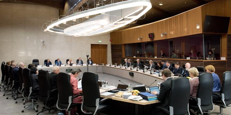Réunion du collège des commissaires - Crédits : Etienne Ansotte / Commission européenne