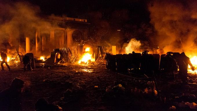 Affrontements en Ukraine