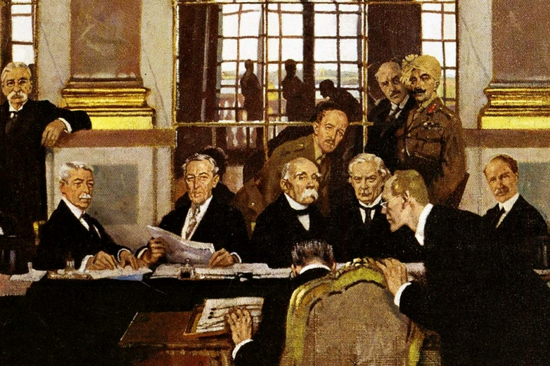 La conférence de la Paix de 1919