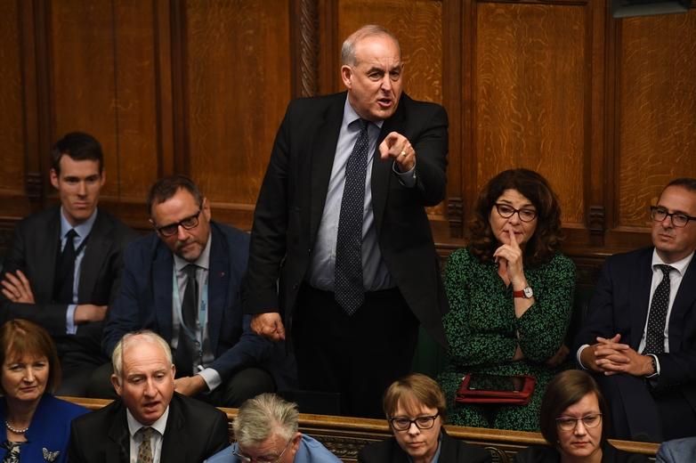David Hanson, député travailliste, vent debout contre le gouvernement britannique, le 25 septembre 2019 -  Crédits : UK Parliament / Flickr