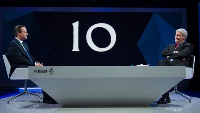 Premier débat télévisé pour Cameron