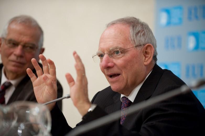 Wolfgang Schäublel Finances Bundestag